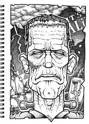 Frankensteins Monster by SEVANS73