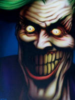 Joker - after Dave McKean by SEVANS73