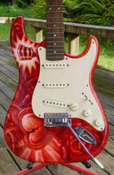 Custom Guitar - Original Design by SEVANS73