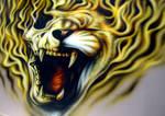 Lion Skull Bonnet