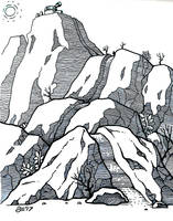 SE Inktober - Trail by SEVANS73