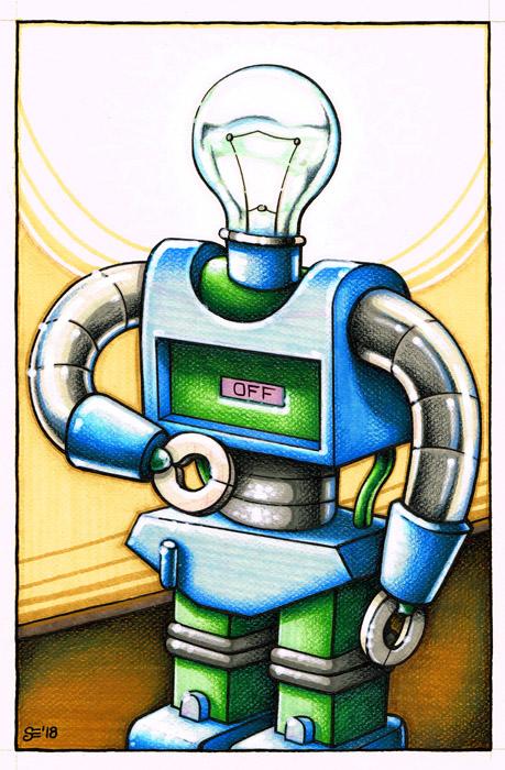 Evans - Robot1 by SEVANS73