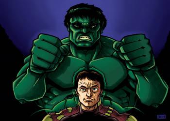 David and the Hulk 2 by SEVANS73