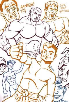 Sketchbook - random characters