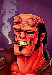 ShaneEvans19 - Hellboy by SEVANS73