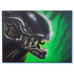 ArtfofEvans - Alien