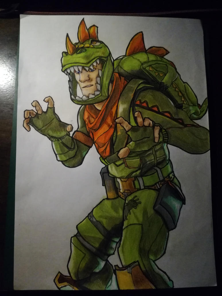 Rex from fortnite by akrx7 on deviantart - Rex from fortnite ...