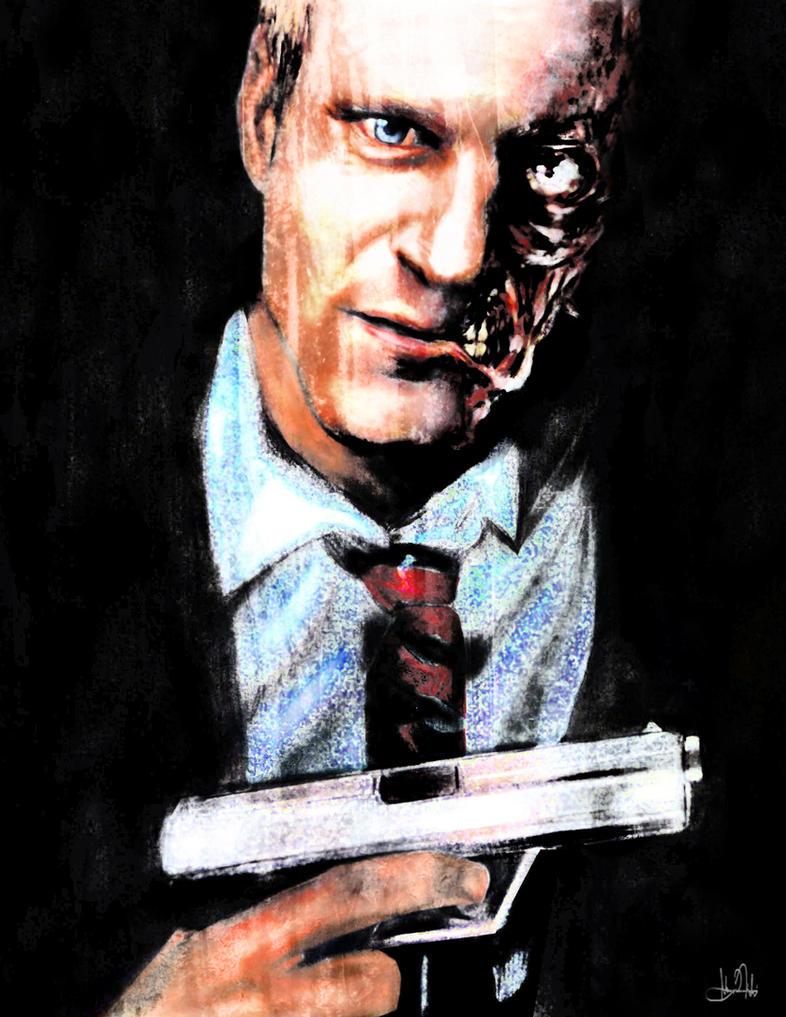 Harvey Two-Face by Art-by-Jilani