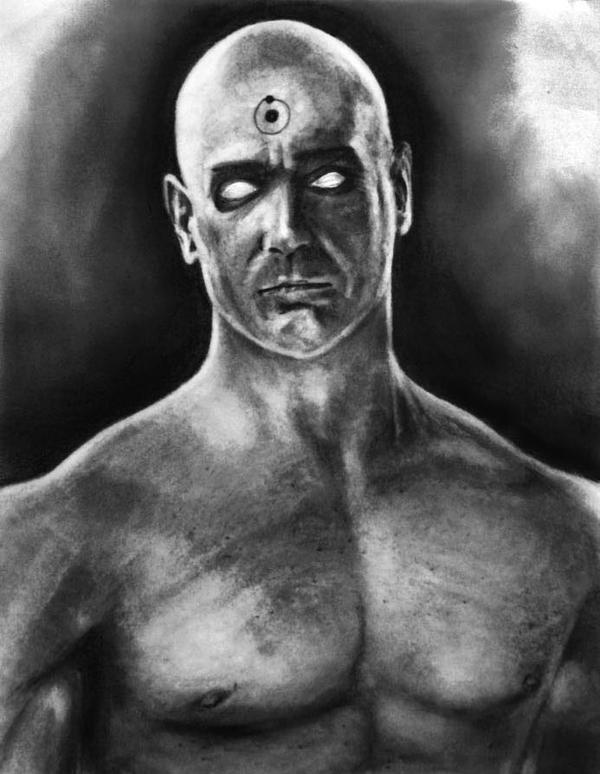 Dr.Manhattan v1 by Art-by-Jilani
