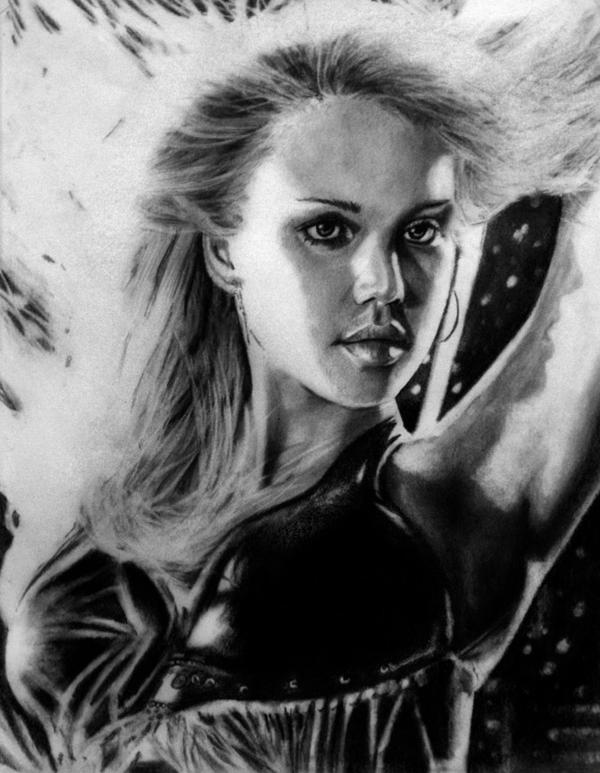 Nancy Callahan v1 by Art-by-Jilani