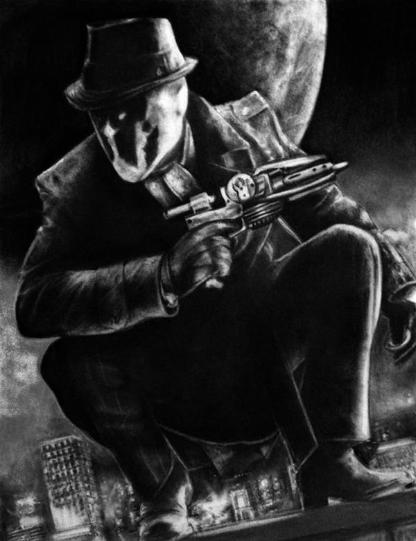 Rorschach v1 by Art-by-Jilani
