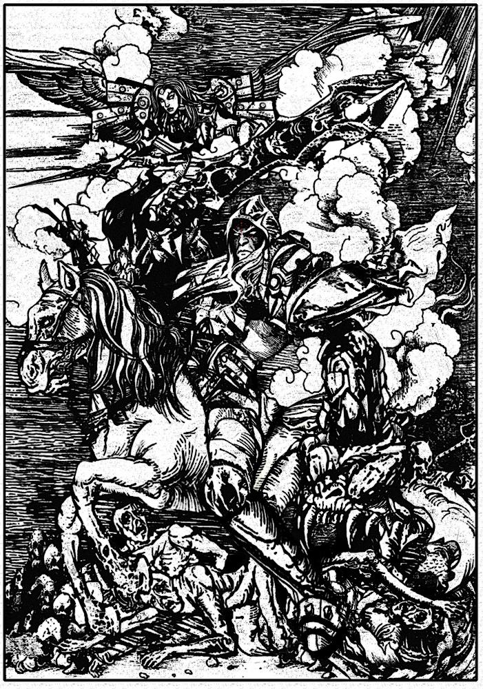 The horseman cometh by Art-by-Jilani