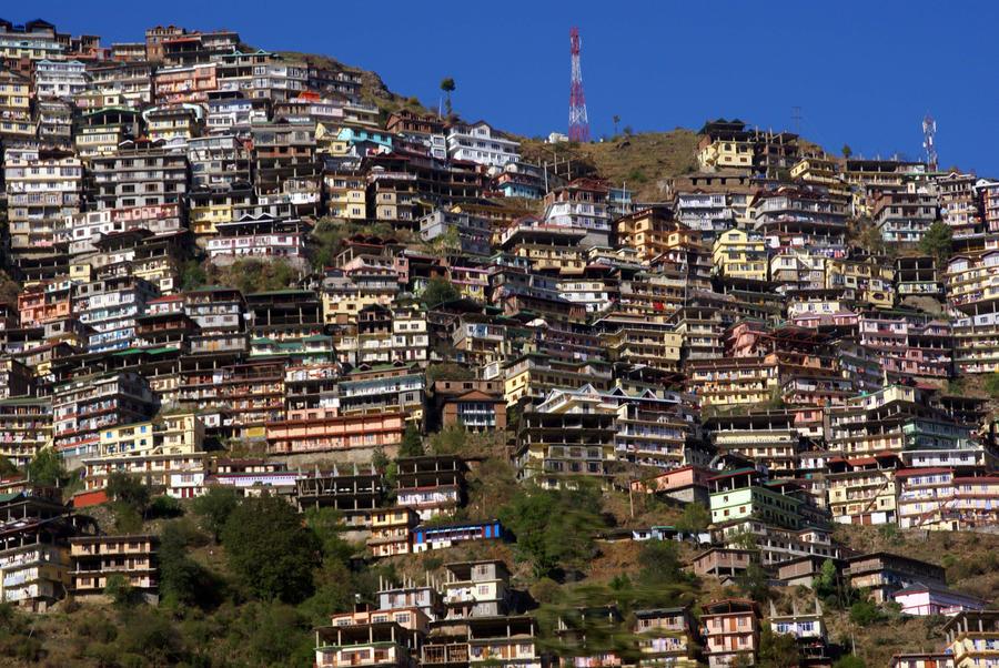 Shimla-India by Art-by-Jilani