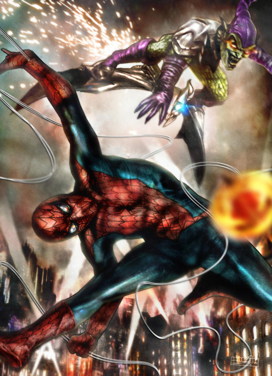 The Amazing Spider-Man by Art-by-Jilani