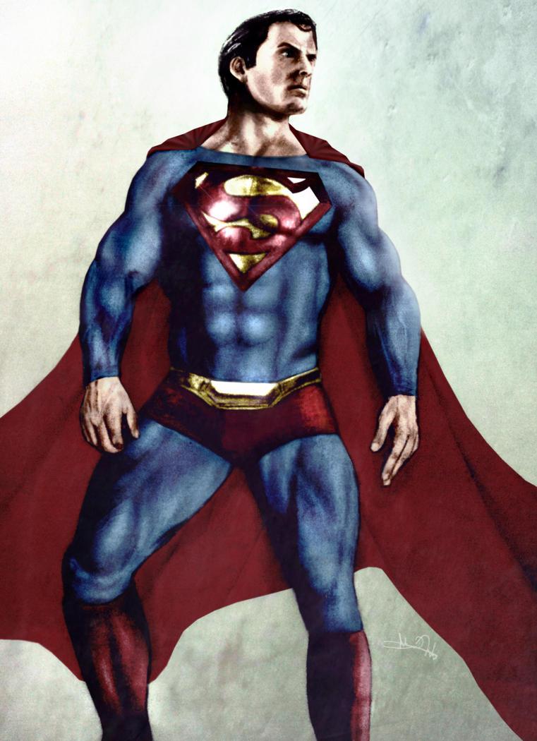 The Man of Steel by Art-by-Jilani