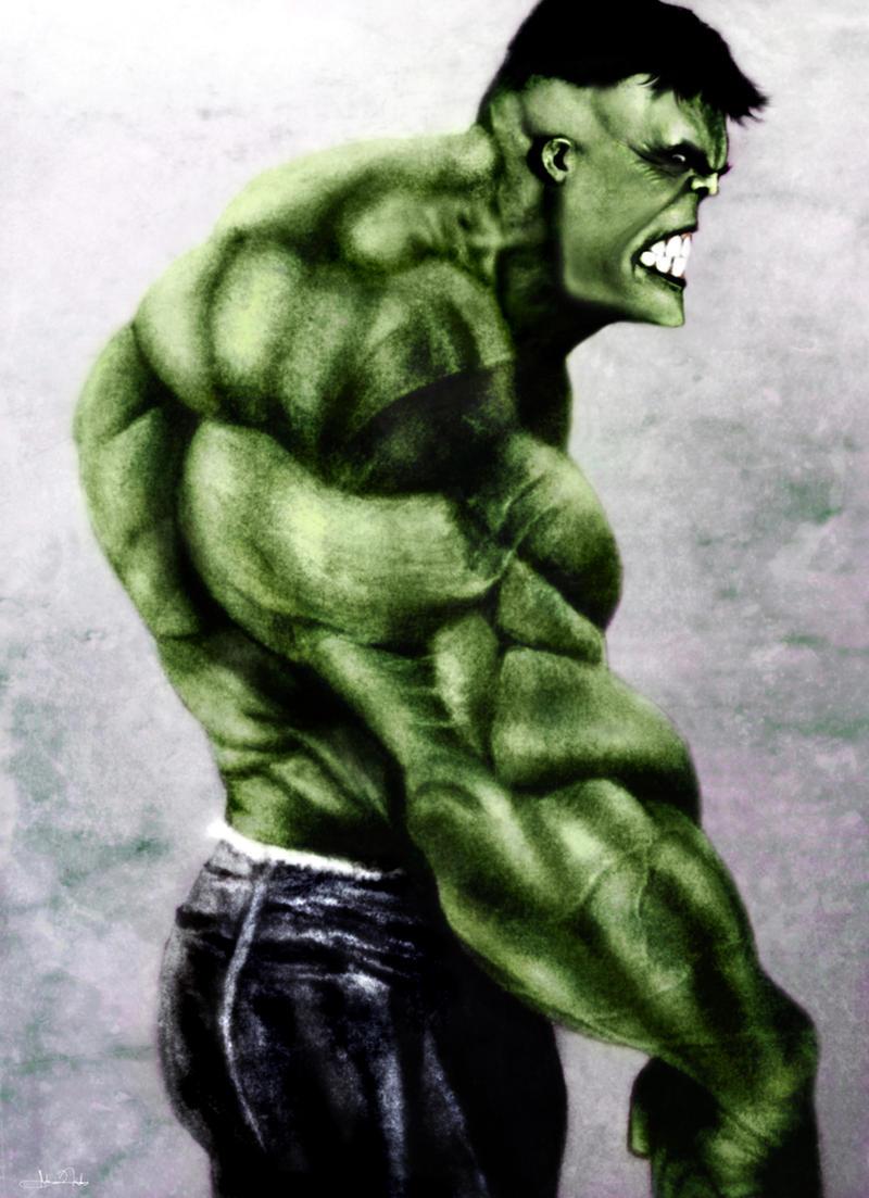 The Incredible Hulk by Art-by-Jilani