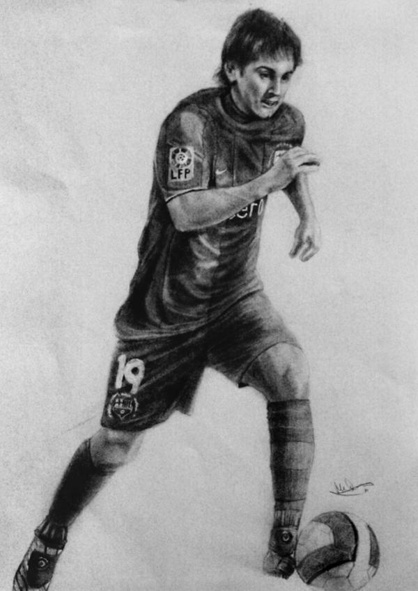 Messi by Art-by-Jilani