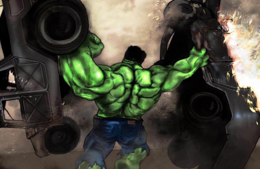 Hulk-2 Humvee-0 by Art-by-Jilani