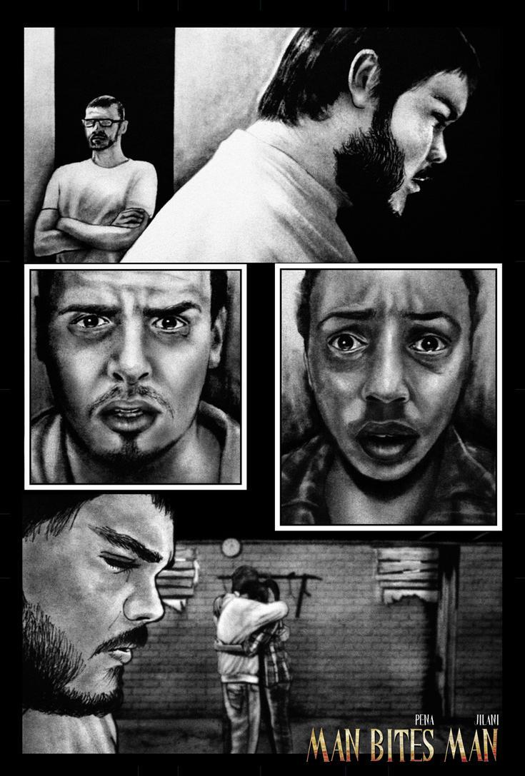 Man Bites Man-pg 7 by Art-by-Jilani