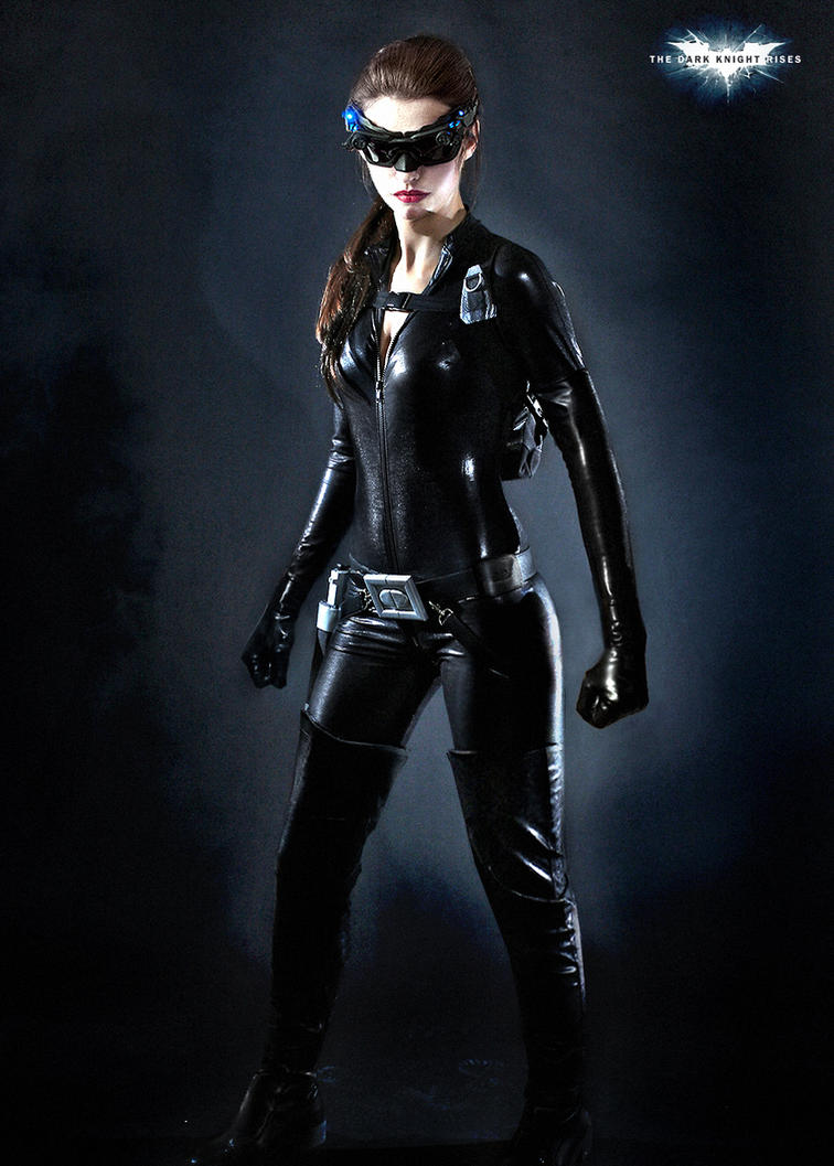catwoman early concept manip by Art-by-Jilani