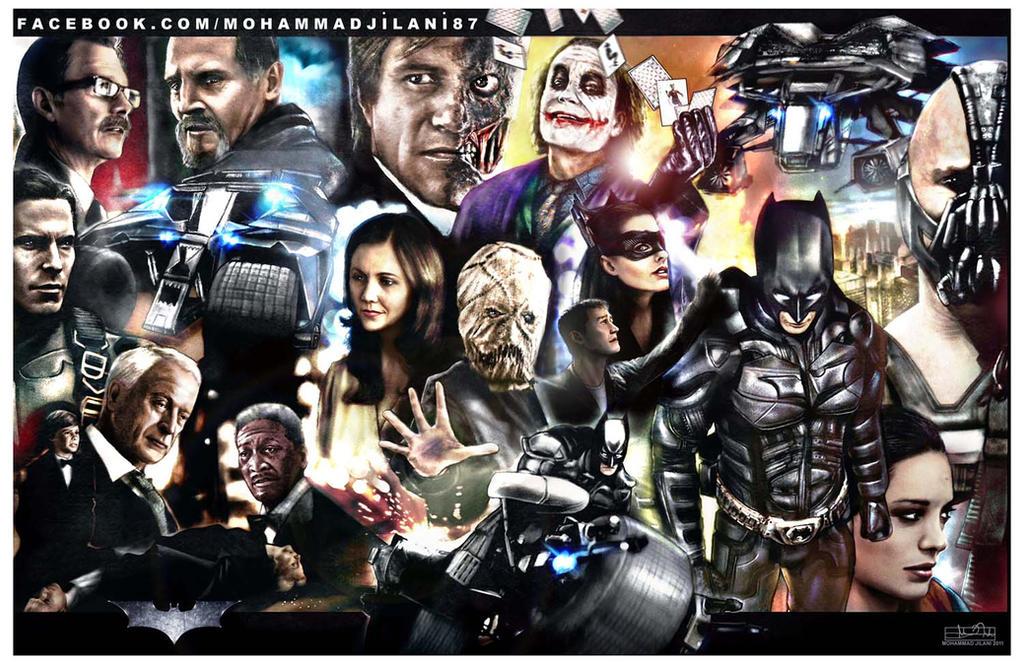 The Dark Knight Legacy by Art-by-Jilani