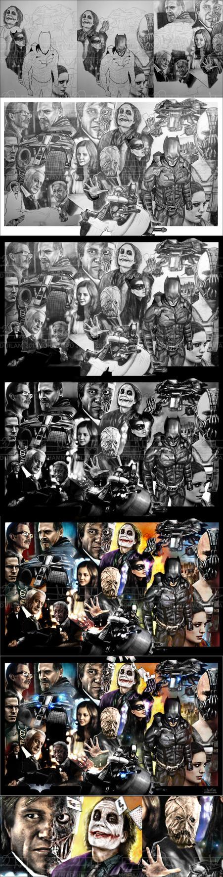 The Dark Knight Legacy progressional by Art-by-Jilani