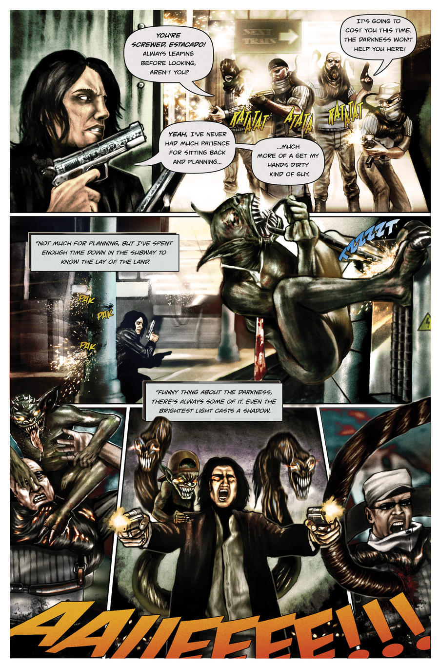 The Darkness II by Art-by-Jilani
