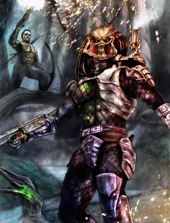 El cazador trofeo de los hombres by Art-by-Jilani
