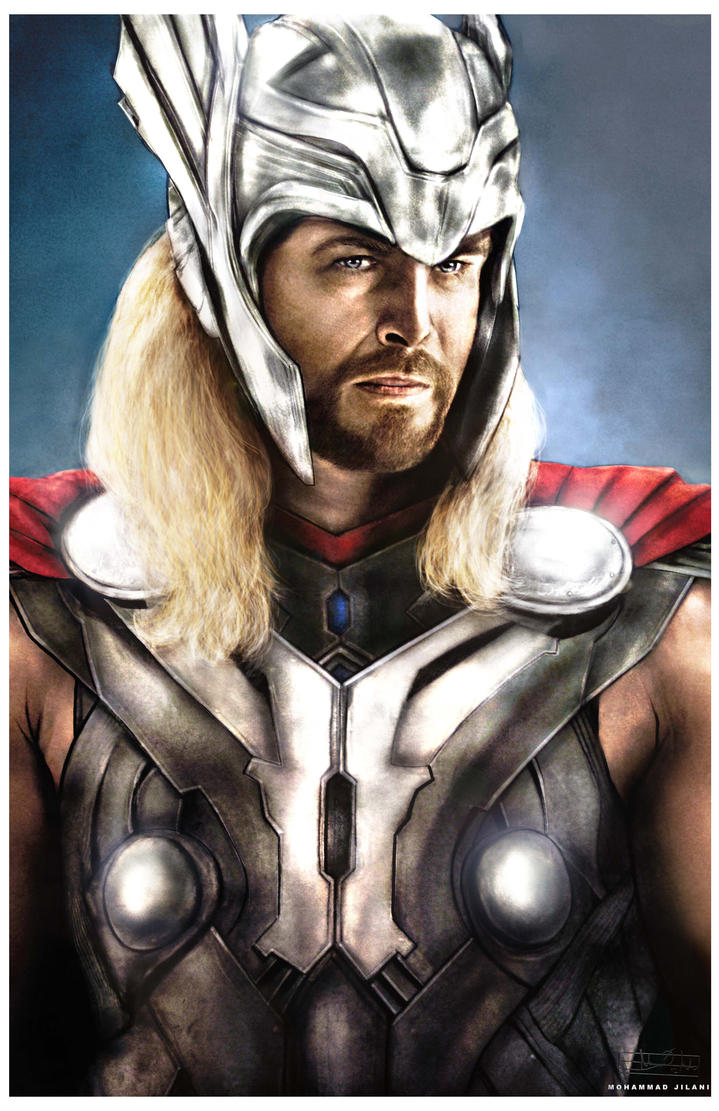 Thor by vicariou5