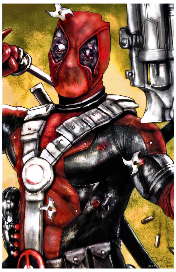 Deadman Wade by Art-by-Jilani