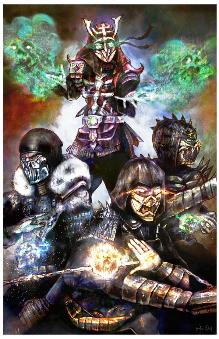 Ninjas by vicariou5