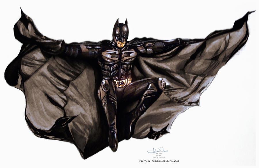 Dark Knight by Art-by-Jilani