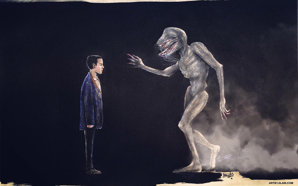 Eleven is standing still by Art-by-Jilani