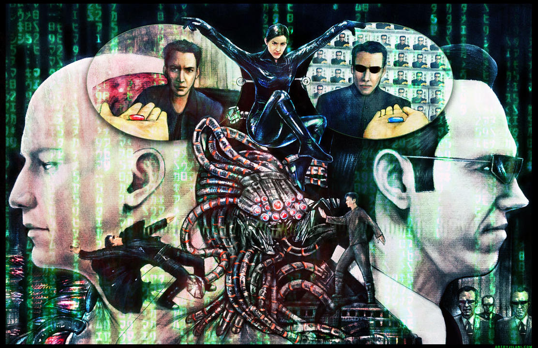 Matrix tribute by Art-by-Jilani