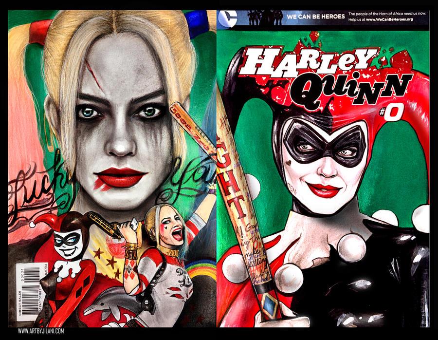 Harley Q by Art-by-Jilani