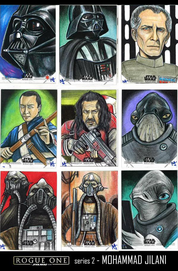StarWars Rogue one series 2 by Art-by-Jilani