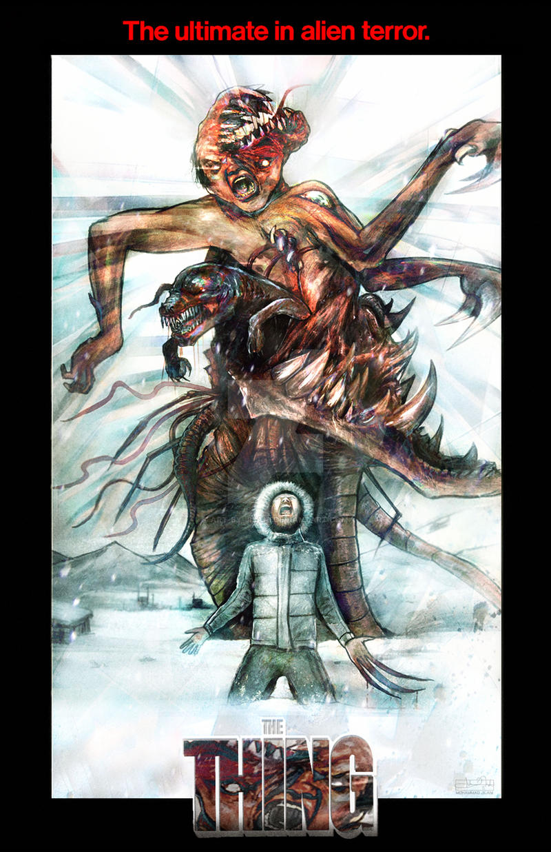 The Thing by Art-by-Jilani