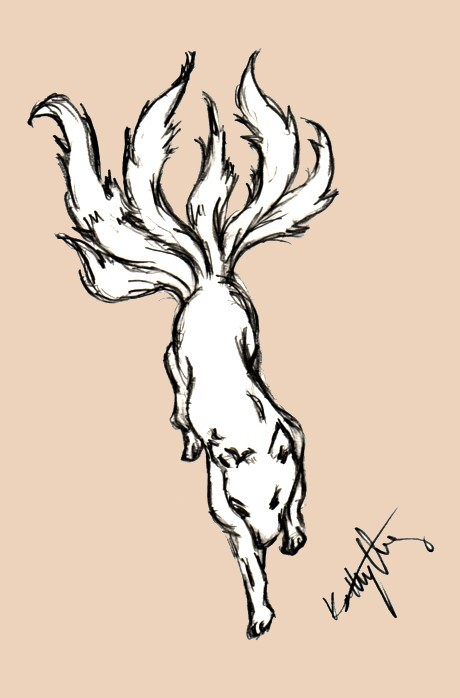Kitsune by toxicdreamonkey