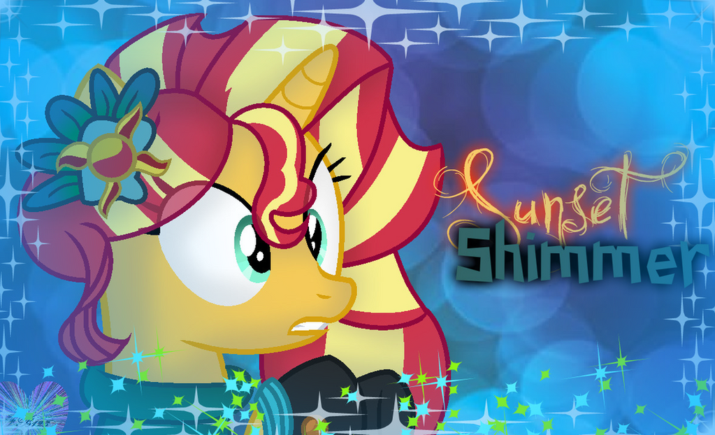 Sunset Shimmer Crystal Ball (Effects) (w/ SP!) by ForeverBunkey123