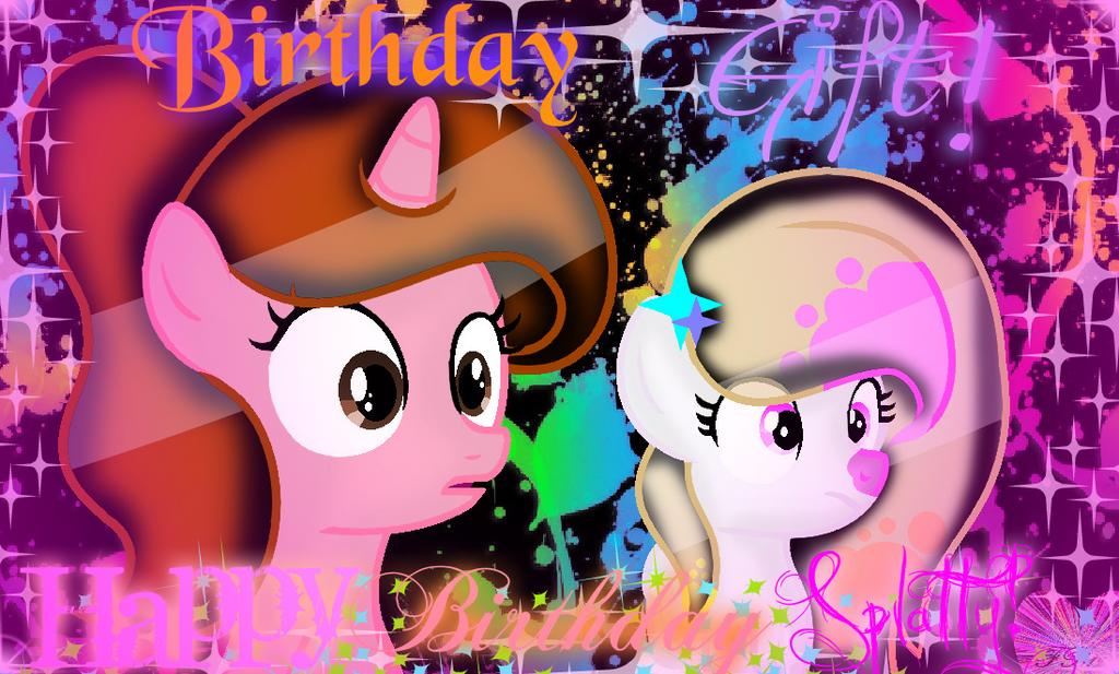 Birthday Gift! (Effects) by ForeverBunkey123