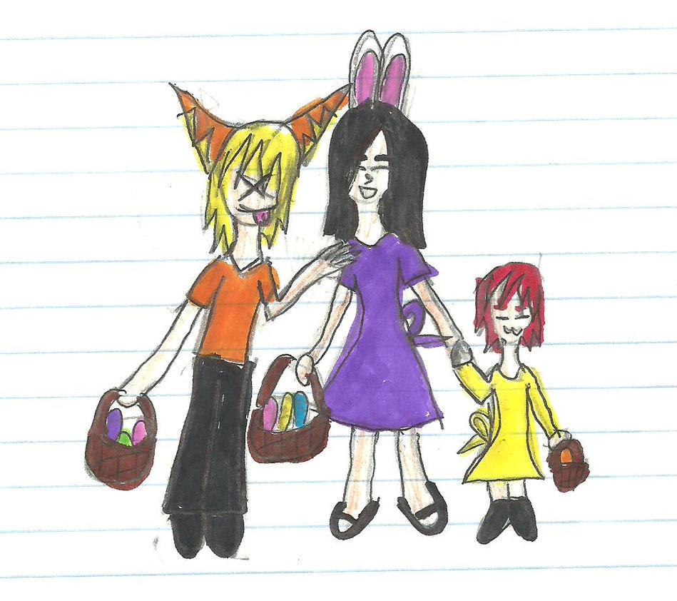 Easter babies. by MusicalHybrid