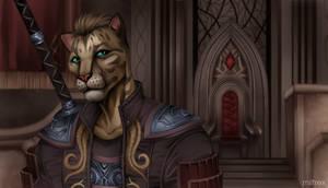 Commission The Elder Scrolls Online - Ruby Throne