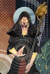 ` Tarot card - Nellyrenn the Dark healer by miltrexenya