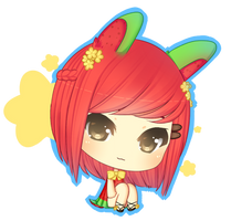 Meline Chibi by Over16Bit