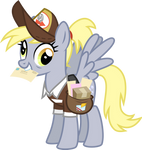 Derpy Hooves Vector 2 by Melisareb