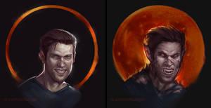 Gavin Reed is werewolf