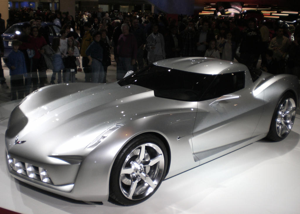 Corvette Stingray Concept Car by MarksA-C