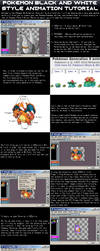 Pokemon BW Animation Style Tutorial by DragonDePlatino