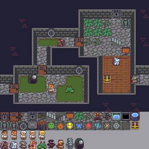 Repixelled Dungeon Mockup