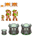 HD Zelda Sprites